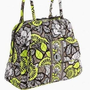 Vera Bradley Turn Lock Satchel bag in Cirton